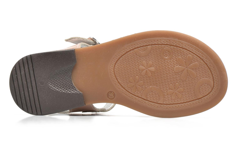 Sandales et nu-pieds Bopy Elvire Rose vue haut