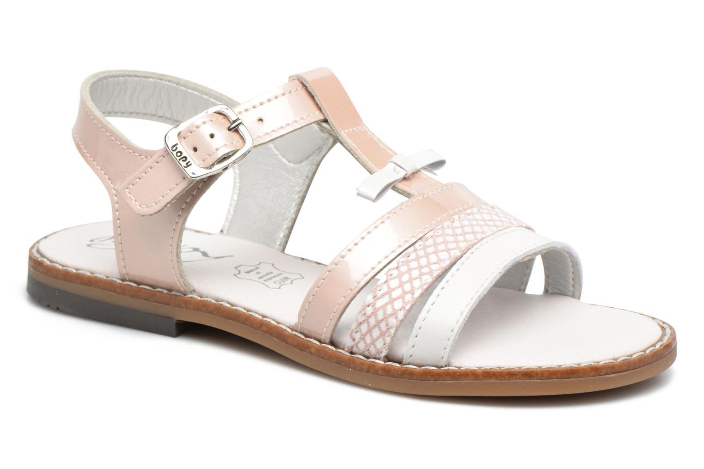Sandales et nu-pieds Bopy Elvire Rose vue détail/paire