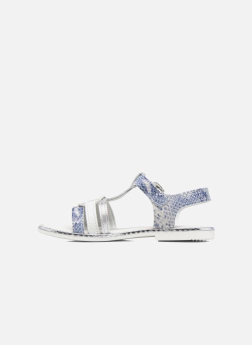 Sandales et nu-pieds Bopy Ernesta Argent vue face