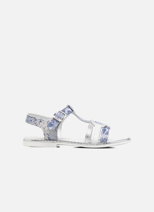 Sandales et nu-pieds Bopy Ernesta Argent vue derrière