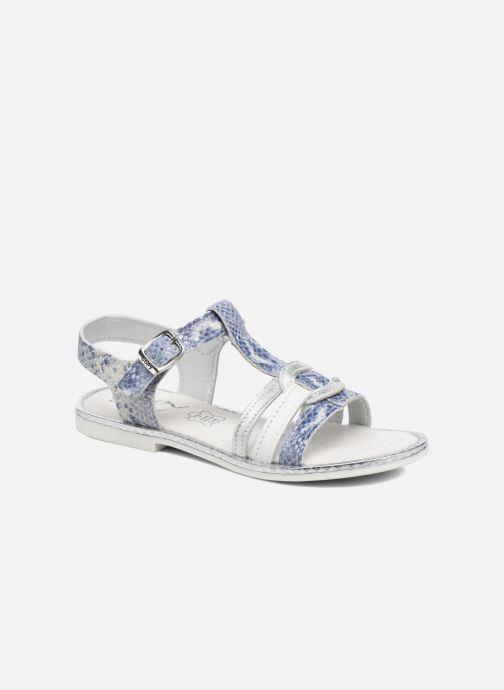 Sandales et nu-pieds Bopy Ernesta Argent vue détail/paire