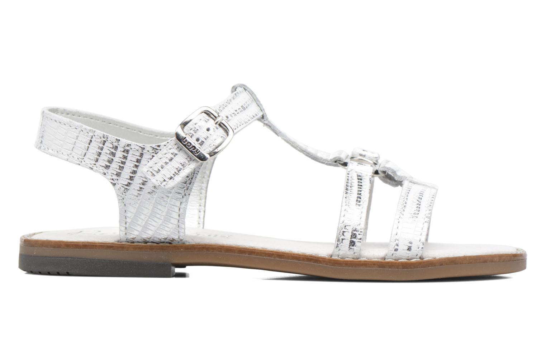 Sandales et nu-pieds Bopy Edelyne Argent vue derrière