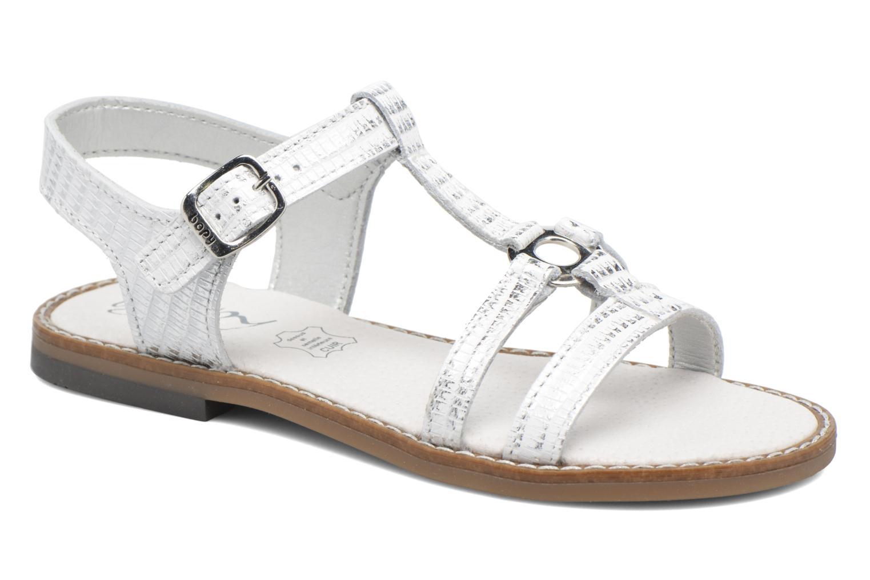 Sandales et nu-pieds Bopy Edelyne Argent vue détail/paire
