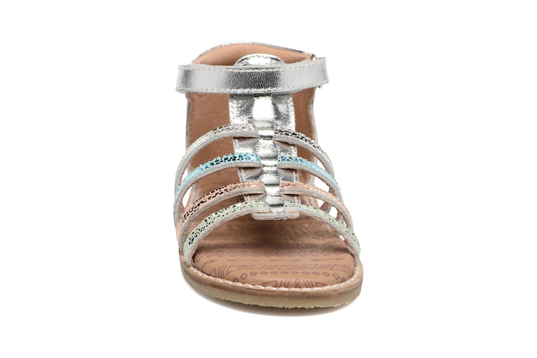 Sandales et nu-pieds Bopy Haya Kouki Multicolore vue portées chaussures