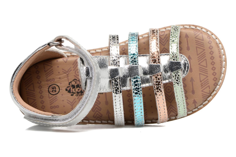 Sandales et nu-pieds Bopy Haya Kouki Multicolore vue gauche