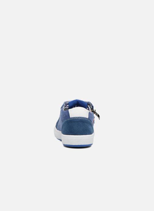 Sneaker Bopy Nardoc blau ansicht von rechts