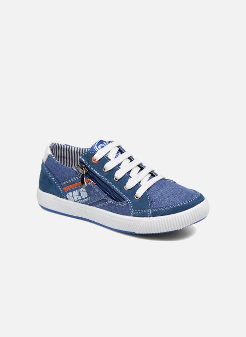Baskets Bopy Nardoc Bleu vue détail/paire