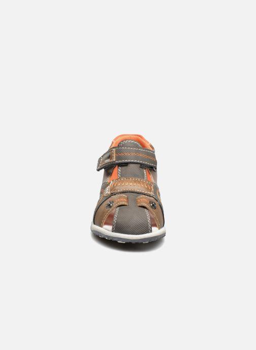 Sandali e scarpe aperte Bopy Navela Kouki Marrone modello indossato
