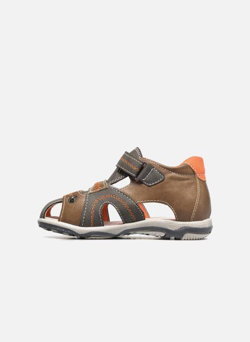 Sandales et nu-pieds Bopy Navela Kouki Marron vue face
