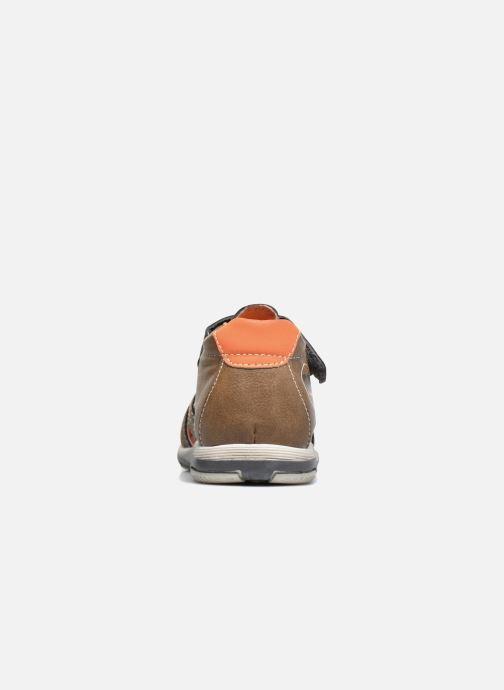 Sandali e scarpe aperte Bopy Navela Kouki Marrone immagine destra