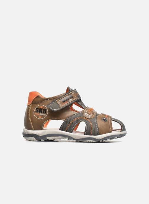 Sandali e scarpe aperte Bopy Navela Kouki Marrone immagine posteriore