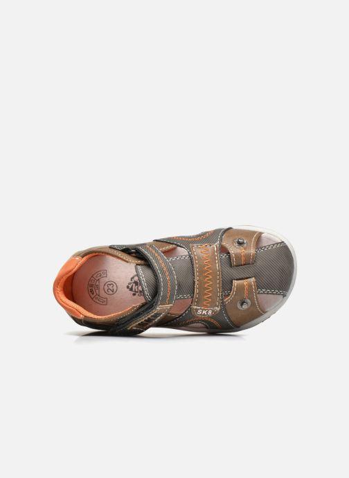 Sandales et nu-pieds Bopy Navela Kouki Marron vue gauche