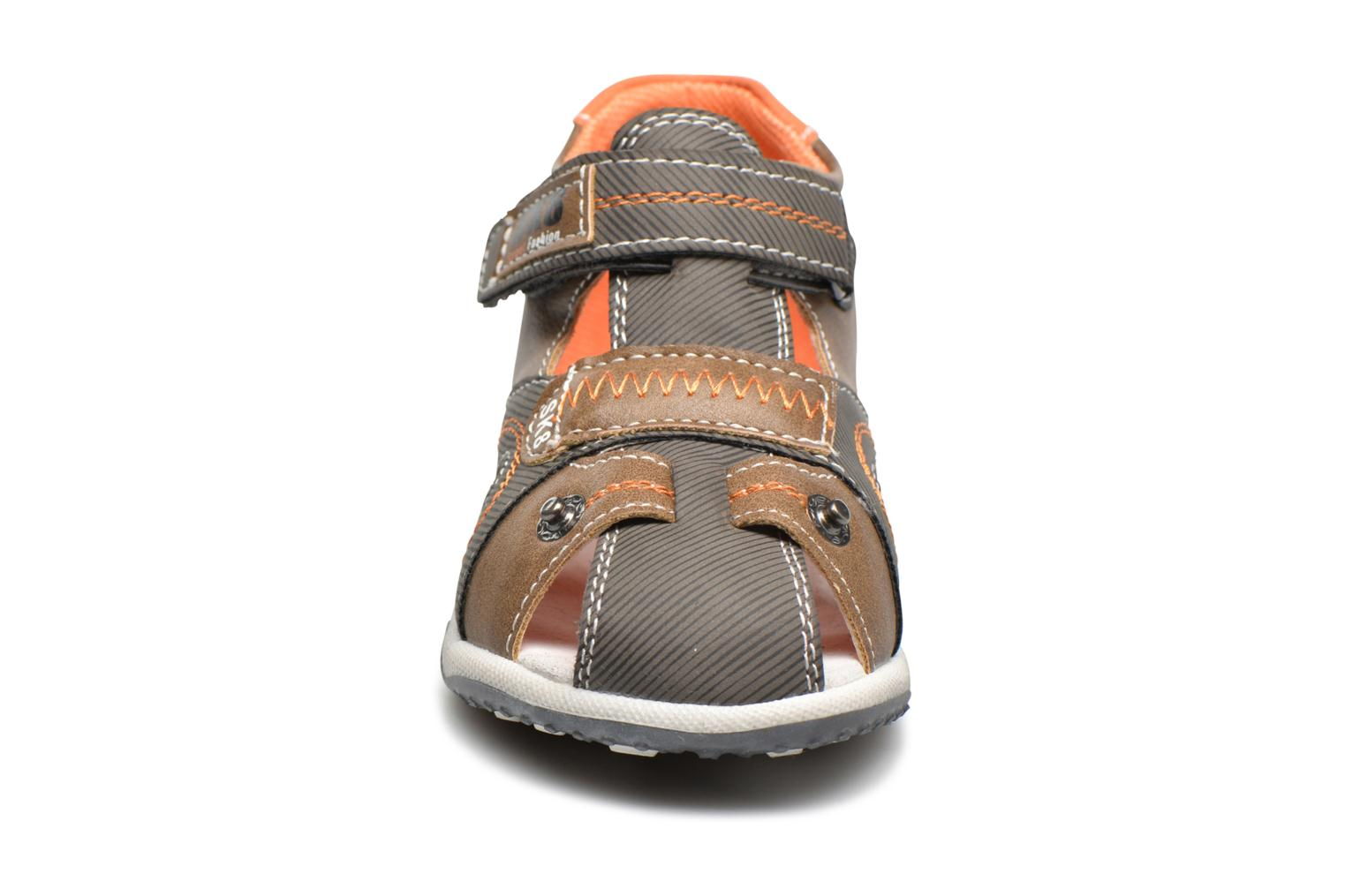 Sandals Bopy Navela Kouki Brown model view