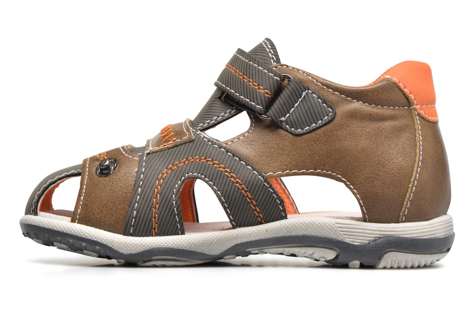 Sandals Bopy Navela Kouki Brown front view