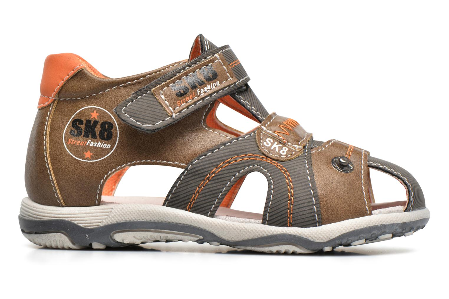 Sandals Bopy Navela Kouki Brown back view