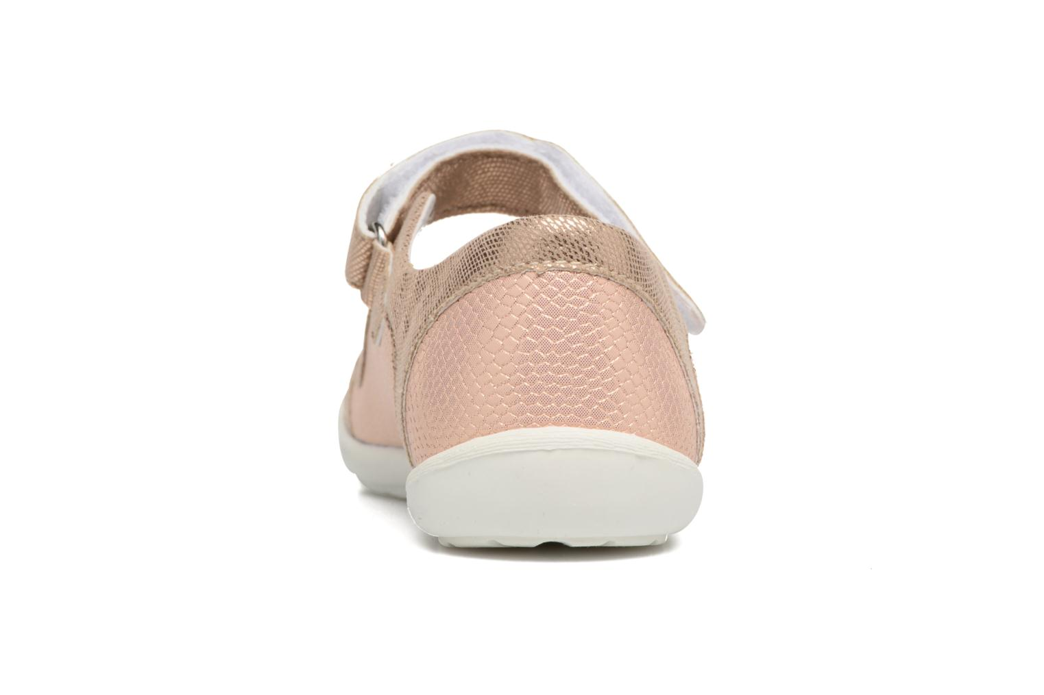 Ballet pumps Bopy Laurine Pink view from the right