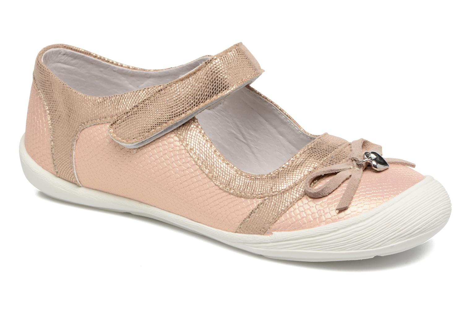 Ballet pumps Bopy Laurine Pink detailed view/ Pair view