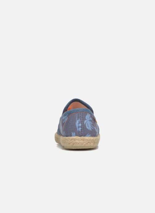 Espadrilles Gioseppo Miquel blau ansicht von rechts