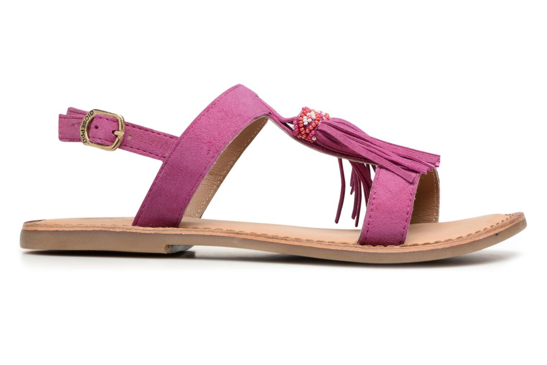 Sandales et nu-pieds Gioseppo Guarani Violet vue derrière