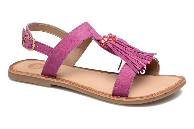 Sandales et nu-pieds Gioseppo Guarani Violet vue détail/paire