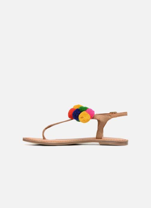 Sandalias Gioseppo Hatae Multicolor vista de frente