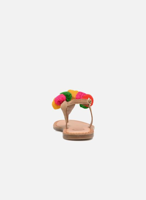 Sandals Gioseppo Hatae Multicolor view from the right