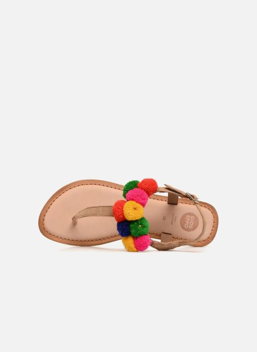 Sandals Gioseppo Hatae Multicolor view from the left