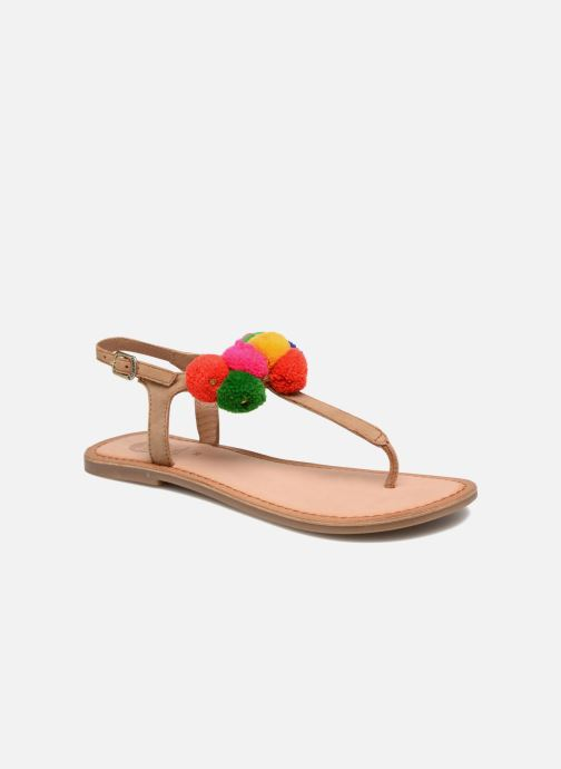 Sandals Gioseppo Hatae Multicolor detailed view/ Pair view
