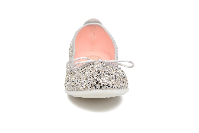 Ballerinas Gioseppo Celinda silber schuhe getragen