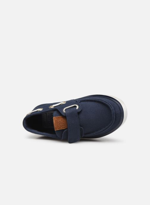 Loafers Gioseppo Cowens Blue view from the left