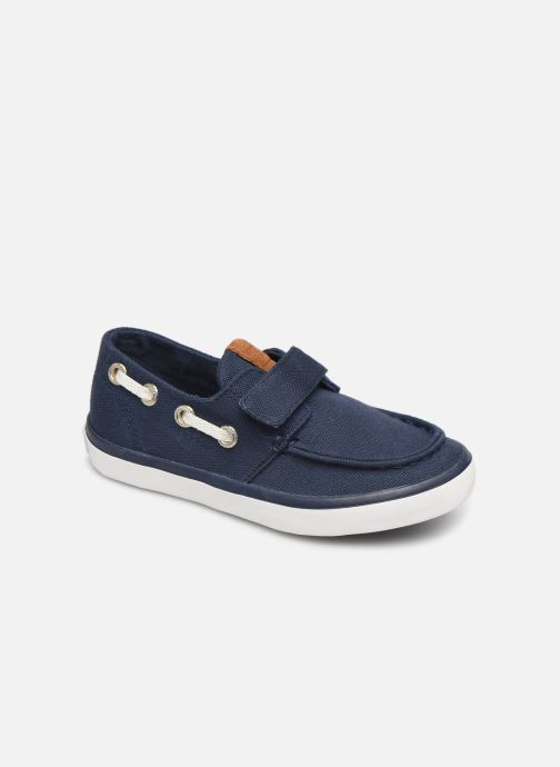 Loafers Gioseppo Cowens Blue detailed view/ Pair view