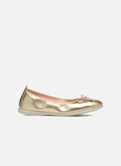 Bailarinas Gioseppo Ainara Oro y bronce vistra trasera