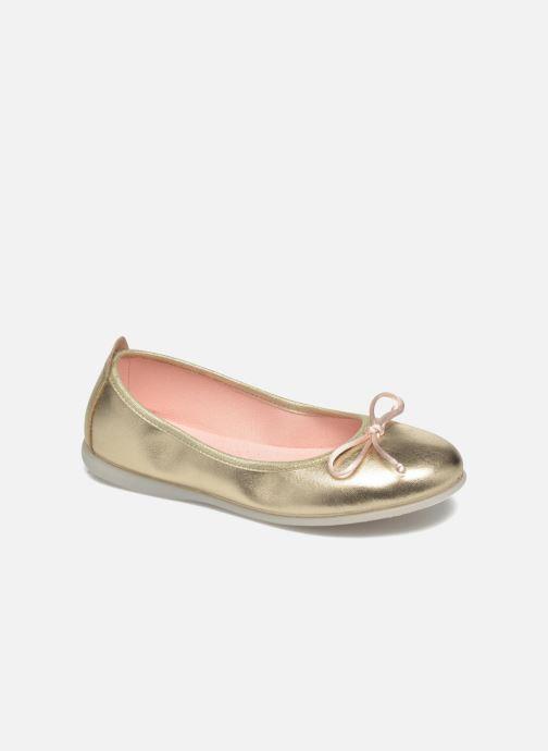 Bailarinas Gioseppo Ainara Oro y bronce vista de detalle / par