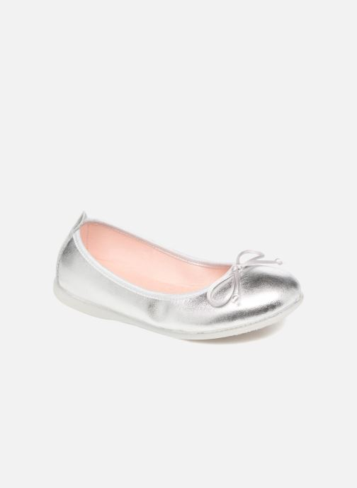 Ballet pumps Gioseppo Ainara Silver detailed view/ Pair view