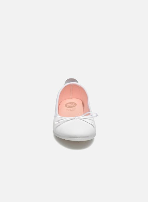 Ballerines Gioseppo Ainara Blanc vue portées chaussures