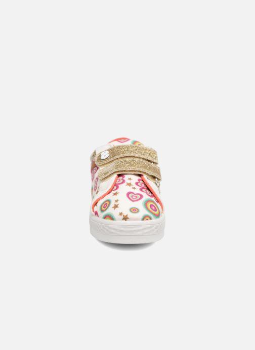 Baskets Desigual Silver Mini 2 Blanc vue portées chaussures