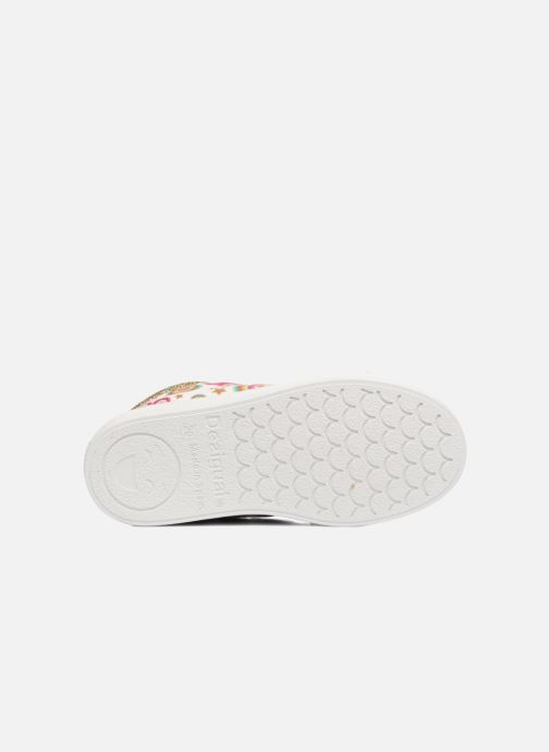 Baskets Desigual Silver Mini 2 Blanc vue haut