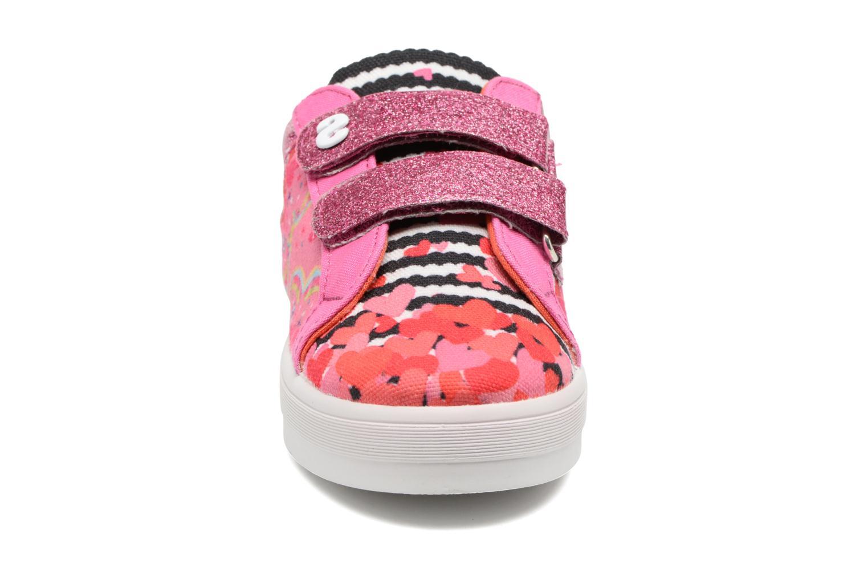 Baskets Desigual Silver Mini 2 Rose vue portées chaussures