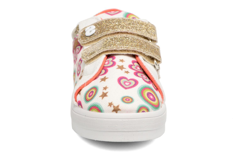 Sneaker Desigual Silver Mini 2 weiß schuhe getragen