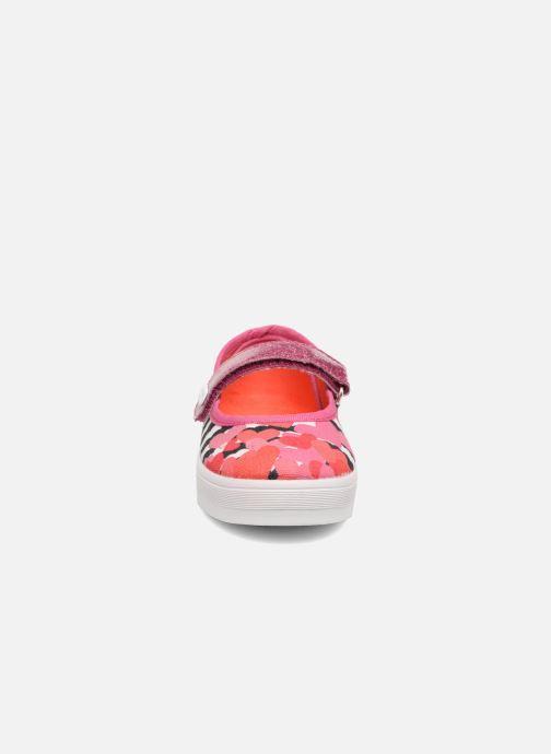 Ballerinas Desigual Mary Jane rosa schuhe getragen