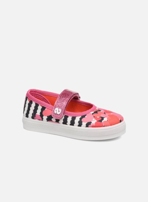 Ballerines Desigual Mary Jane Rose vue détail/paire