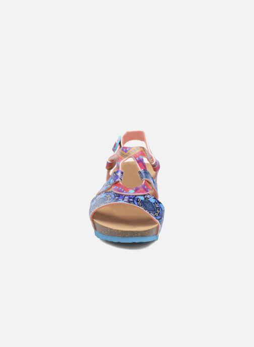 Sandalen Desigual Wedge Bio mehrfarbig schuhe getragen