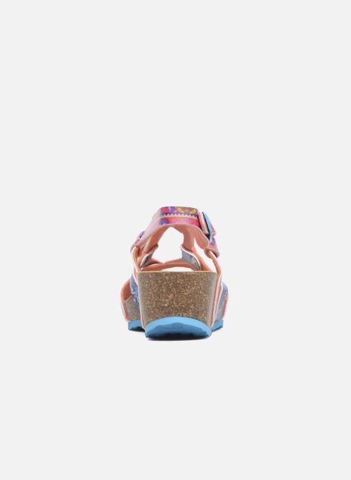 Sandalen Desigual Wedge Bio mehrfarbig ansicht von rechts