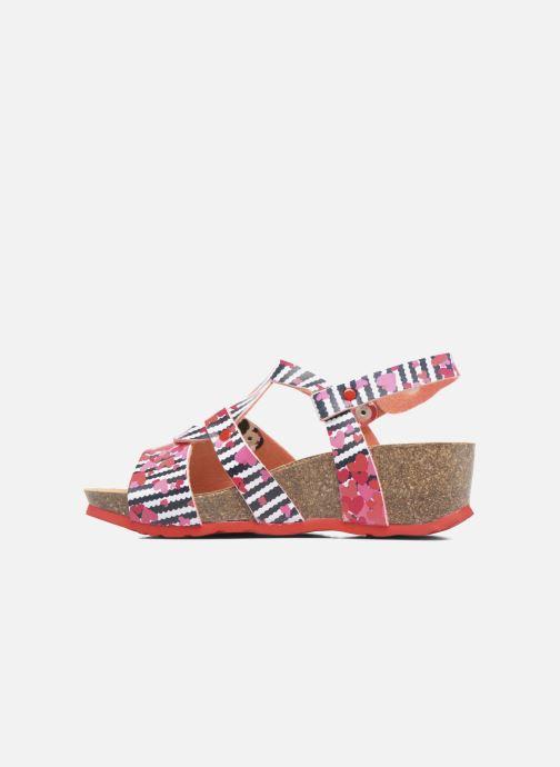 Sandales et nu-pieds Desigual Wedge Bio Rose vue face