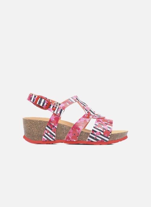Sandales et nu-pieds Desigual Wedge Bio Rose vue derrière