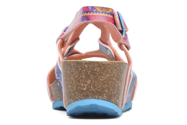 Sandales et nu-pieds Desigual Wedge Bio Multicolore vue droite