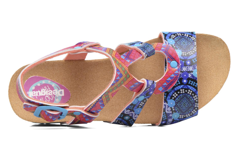 Sandales et nu-pieds Desigual Wedge Bio Multicolore vue gauche