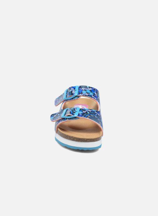 Sandales et nu-pieds Desigual Bio 6 Multicolore vue portées chaussures