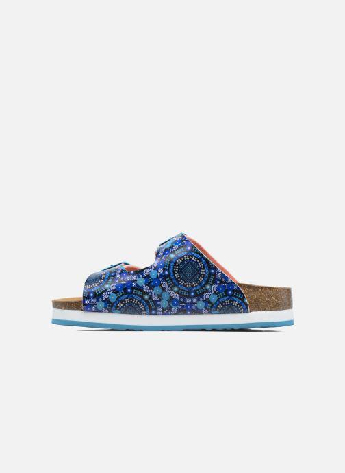 Sandales et nu-pieds Desigual Bio 6 Multicolore vue face