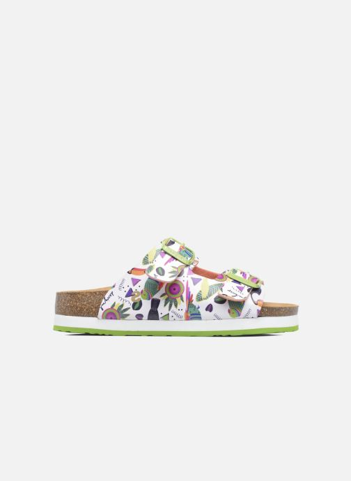 Sandales et nu-pieds Desigual Bio 6 Multicolore vue derrière